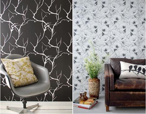 tapet fra ferm living webstash. Black Bedroom Furniture Sets. Home Design Ideas