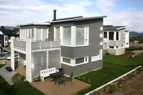 Systemhus har delt inn boligene i tre ulike kategorier slik at det ...