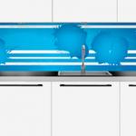 <b>Plexiglass over kjøkkenbenken</b>