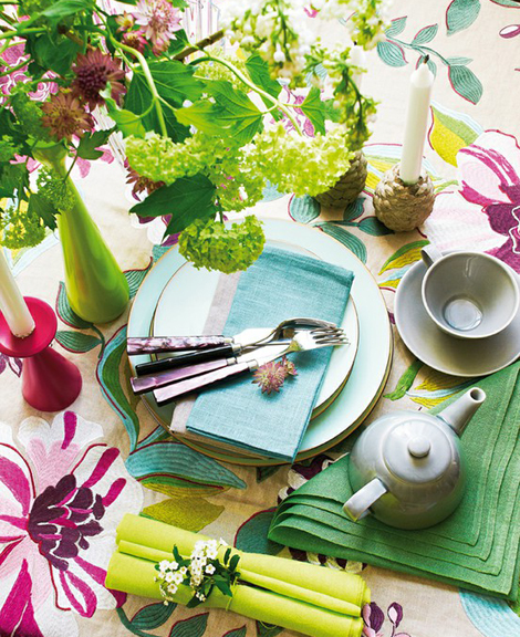 Kitchen Table Summer Centerpiece Ideas Decorations