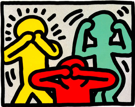 Illustrator Keith Haring Wallart 171 Webstash